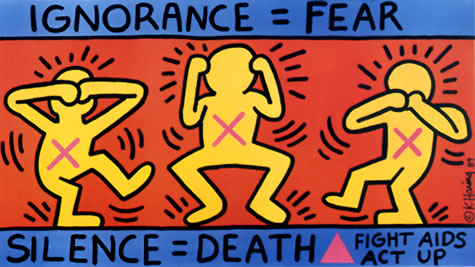 Keith Haring AIDS