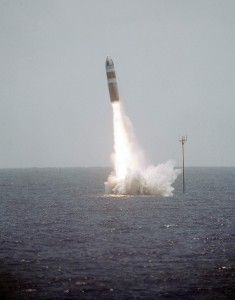 Immagine 3 lancio da sottomarino di un missile UGM 73 Poseidon