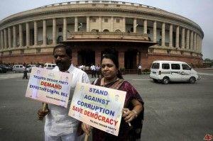 proteste anti-corruzione