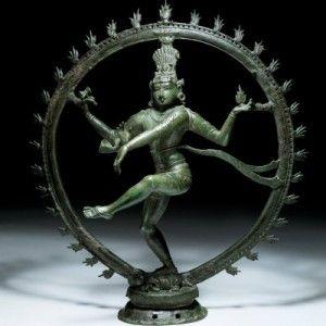 Shiva Nataraja, bronzo, 12° secolo.