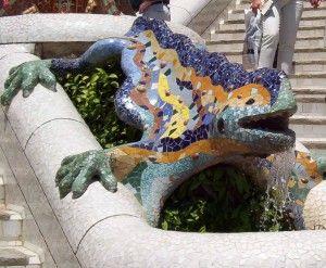 salamandra Antoni Gaudi