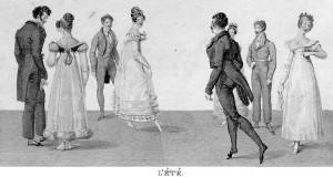 Quadrille Ete Lebas 1820