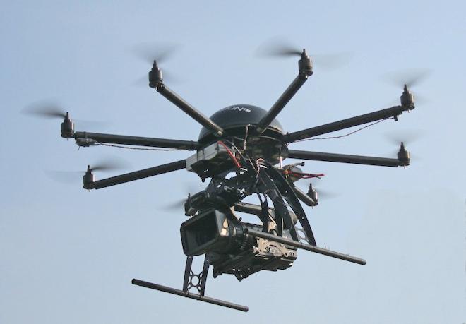 Drone per riprese.