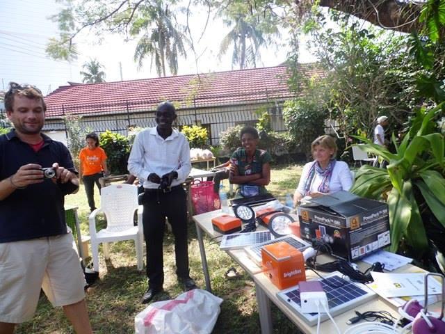 African Solar Rise Team.