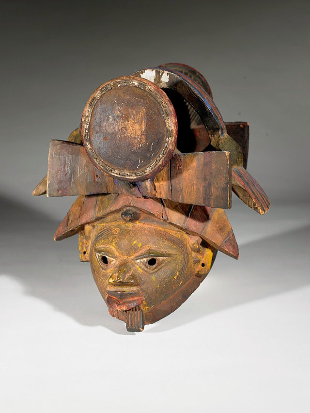 Maschera del Geledé.