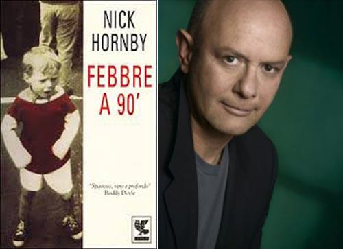F2. Copertina del libro Febbre a 90° e la foto dell'autore.