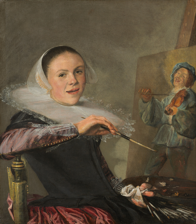 Judith Leyster, 'Autoritratto', 1635, Washington D.C., National Gallery
