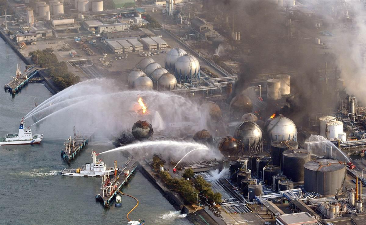 Il disastro nucleare di Fukushima.