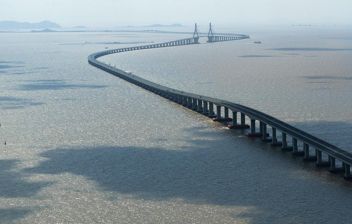 Il ponte Donghai.