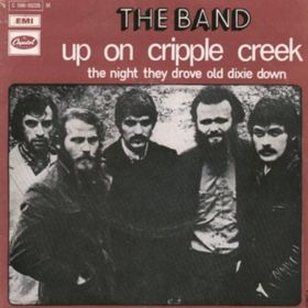 The_Band_-_Up_on_Cripple_Creek_single