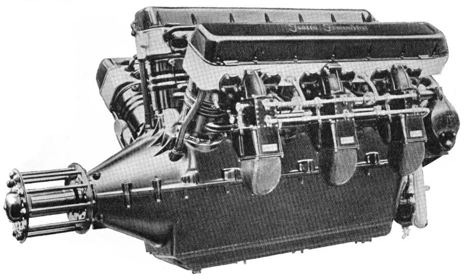 Il motore W18 Isotta Fraschini Asso 750.
