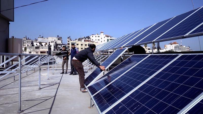 Gaza_pannelli solari