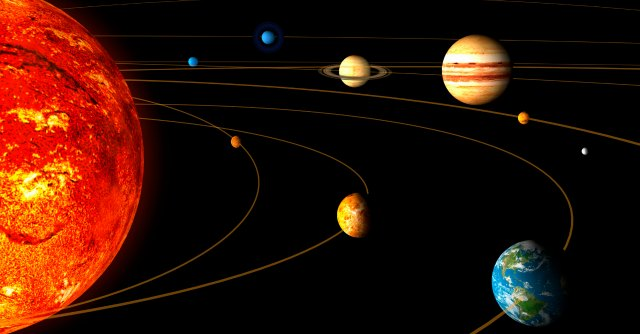 sistema solare terra