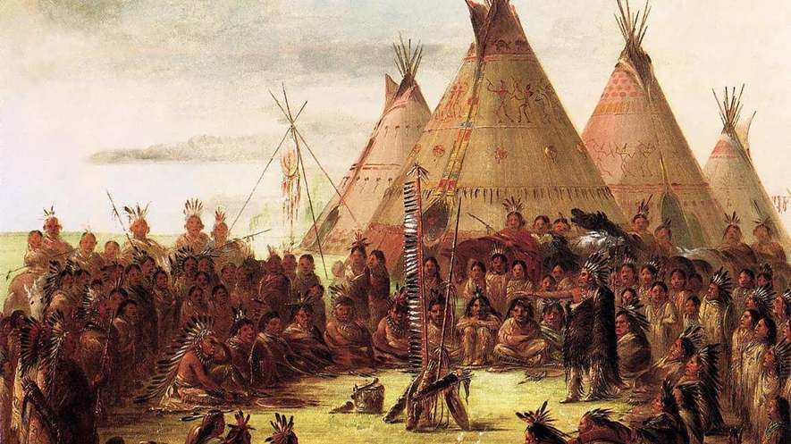 Consiglio Sioux, 1848.