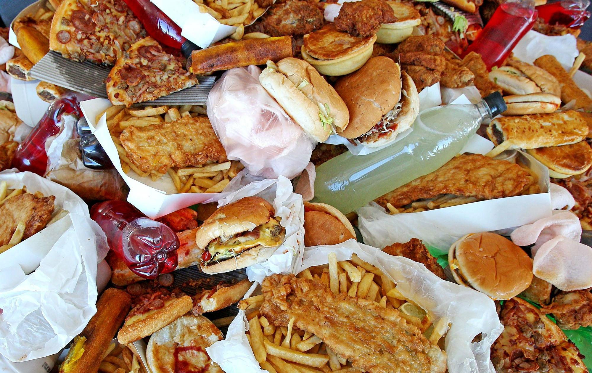 Alimenti spazzatura.